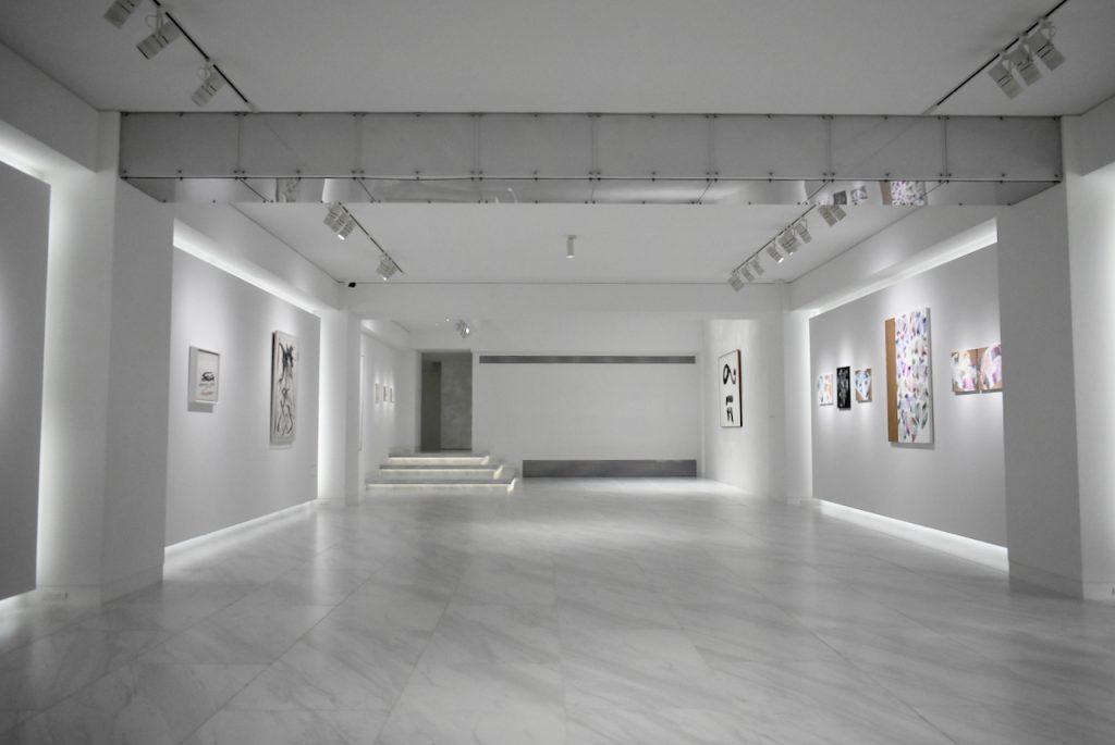「線のカタチ-Linework-」展 1F 展示風景